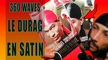 le durag en satin 360 waves