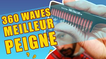 le meilleur peigne 360 waves