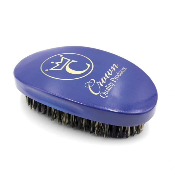 360 Gold Caesar Brush – Royal Blue – Medium Bristle présentation