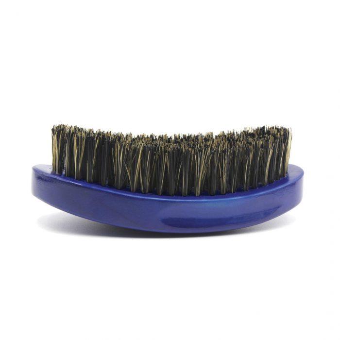 360 Gold Caesar Brush – Royal Blue – Medium Bristle dessous