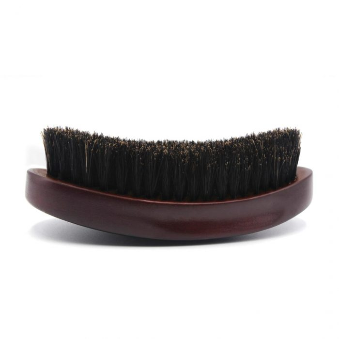 360 Gold Caesar Brush – Mahogany – Soft Bristle dessous