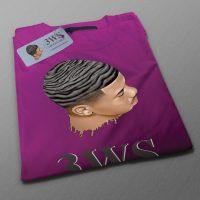 t-shirt 360waveshop violet