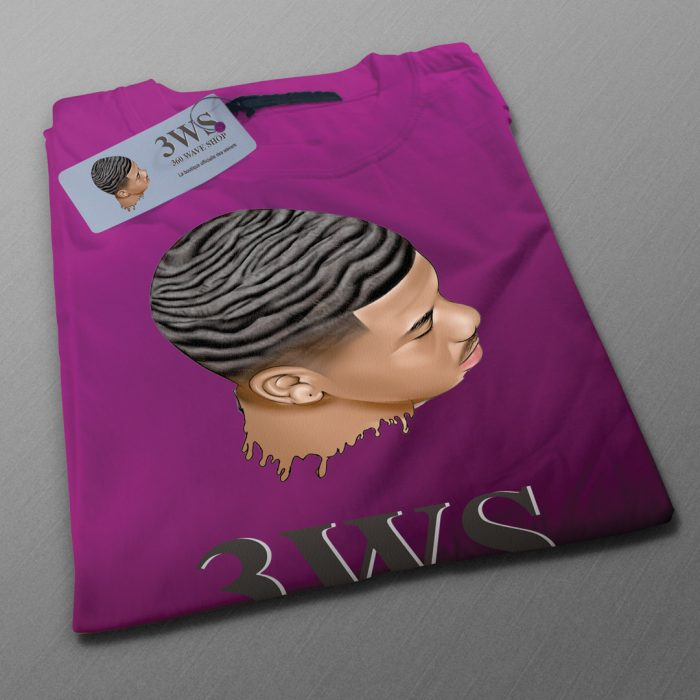 t-shirt 360waveshop violet